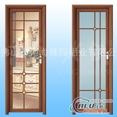 门窗铝材M56隔热平开门铝型材