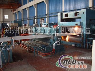 世鑫供应好工艺高产量铝板铸轧机