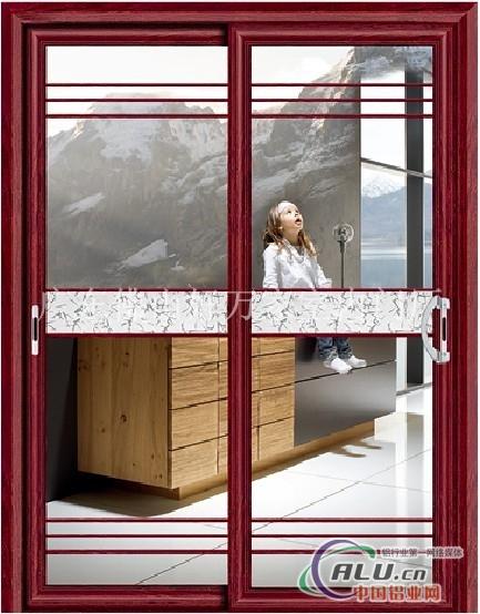 卫生间铝合金门-门窗型材-中国铝业网