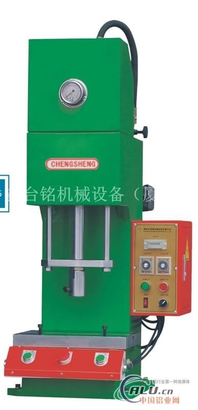 单柱台式油压机小型单柱油压机_液压机-鑫台铭机械()图片
