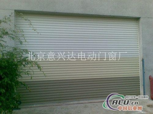 安装电动卷帘门铝合金门窗