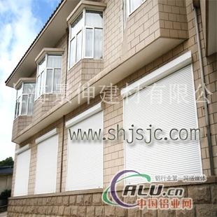 供应铝合金欧式卷帘窗别墅电动卷帘窗