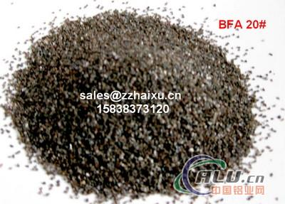 Brown corundum