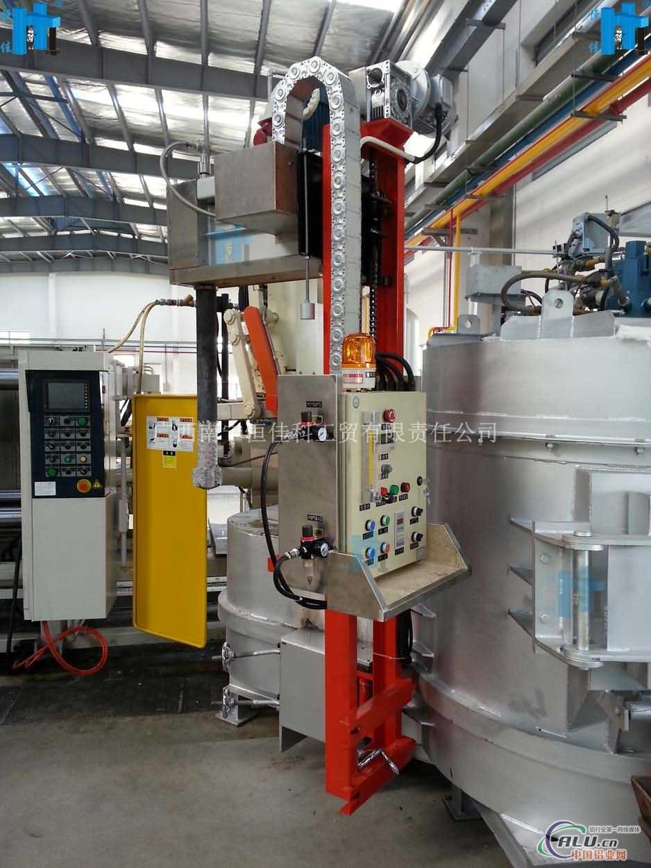 供应集中熔化炉专用在线除气设备