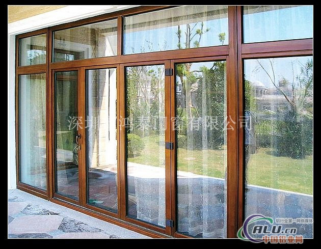 木包铝门窗厂家_高档铝木门窗