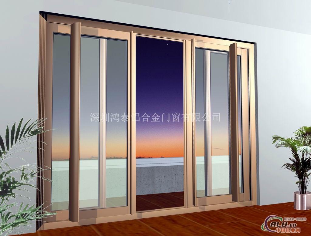 厨房推拉门-铝合金门窗-中国铝业网