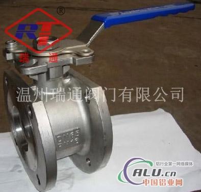 对夹式球阀是用双头螺栓将阀门连接在两管道法兰之间,法兰式球阀是图片