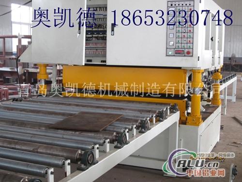 氟碳铝单板拉毛机