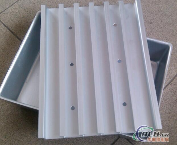 aluminum alloy tray for freezing food area
