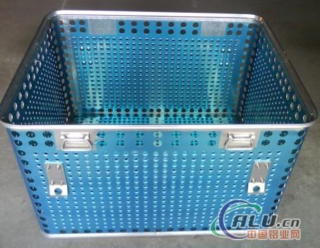 aluminum alloy sterilization container