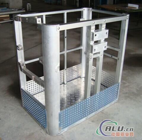 Aluminium alloy aerial work platform