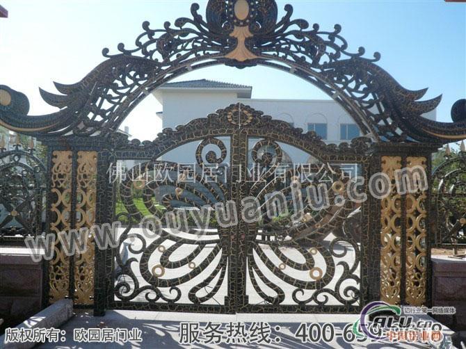 佩墅入户父亲门-铝合金门窗-中国铝业网