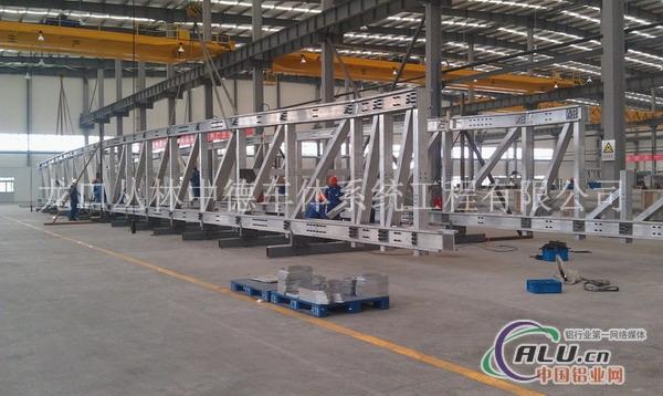 铝桥梁+铝合金天桥+铝合金桥梁