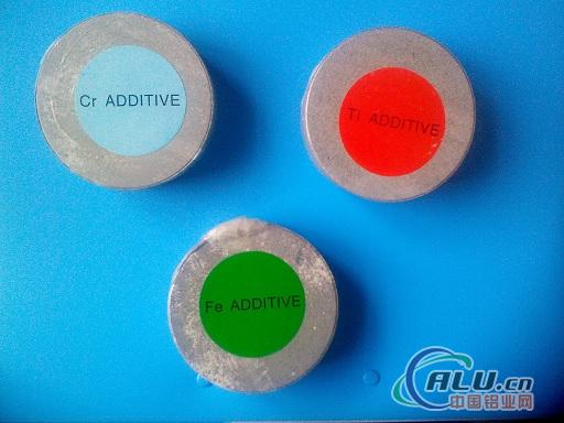 alloying additive Tablets for Al Alloys