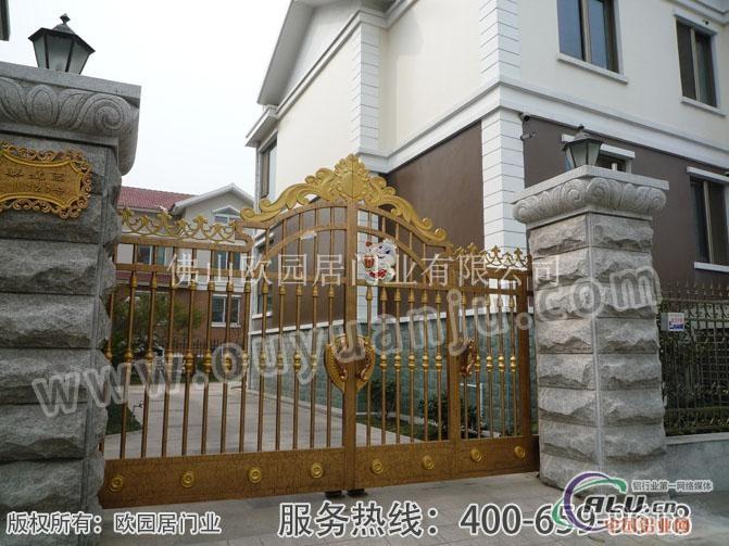 别墅大门设计图片