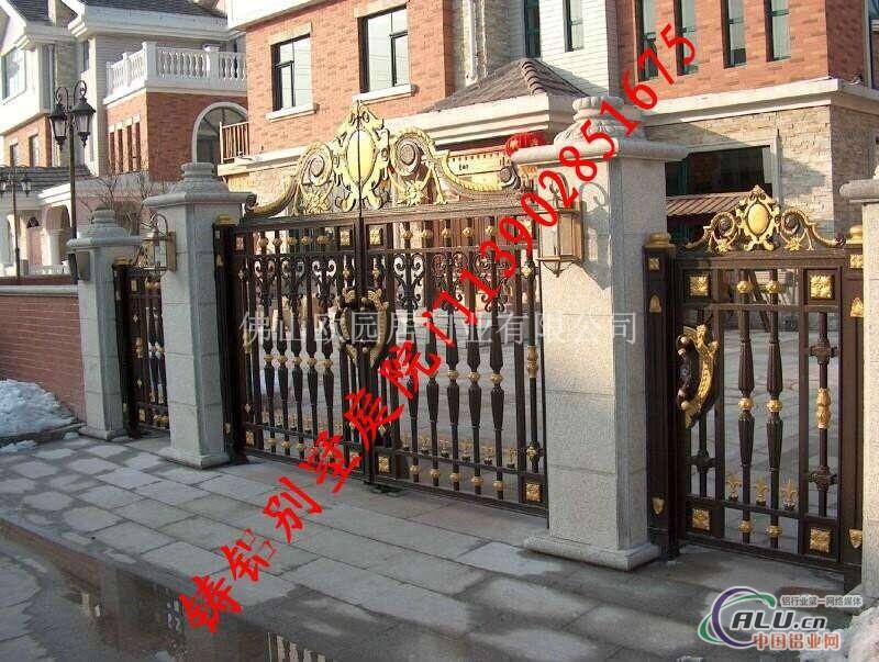 别墅大门设计图,别墅庭院大门及围墙,别墅院墙大门图片,欧式别墅大门