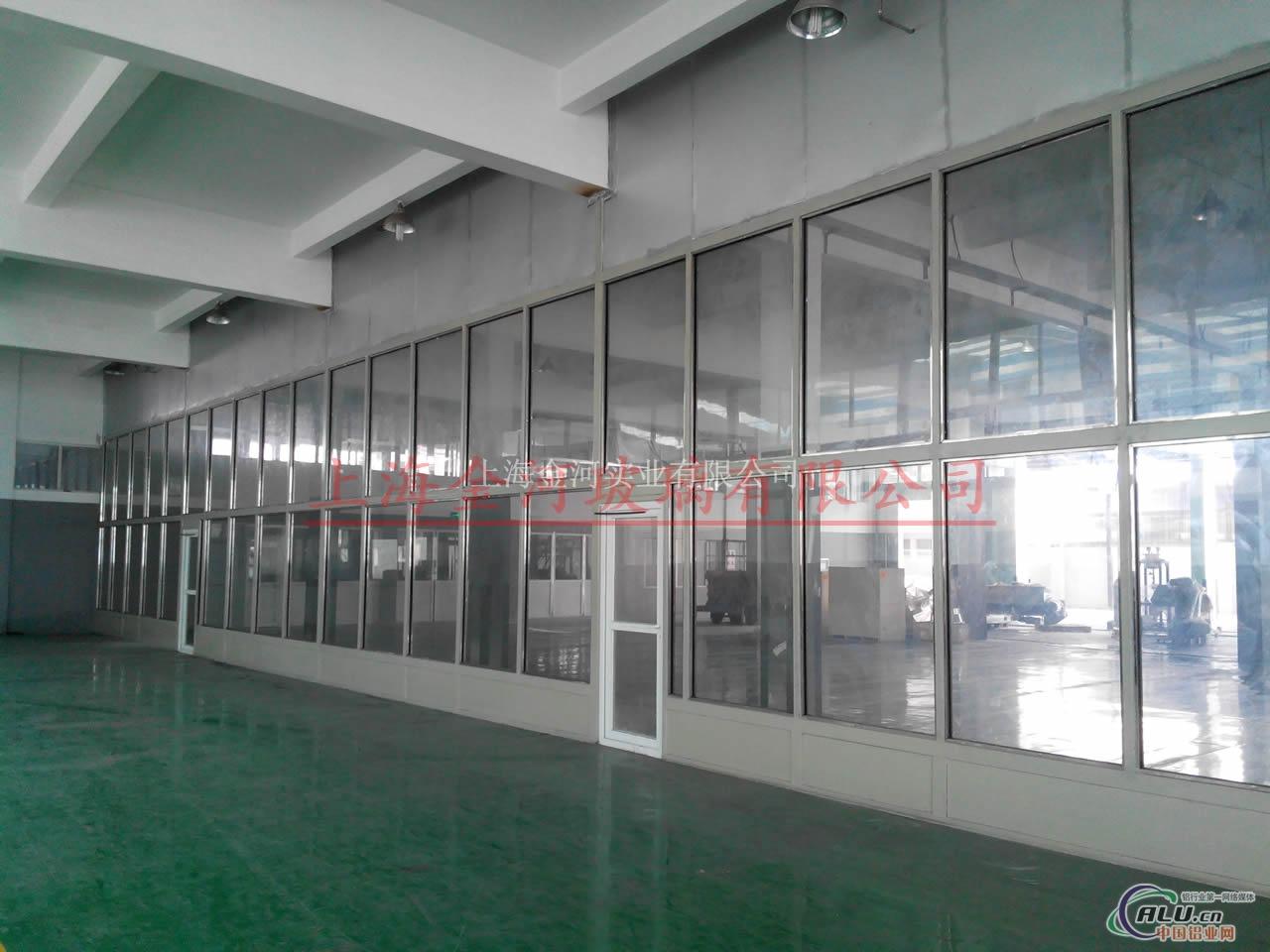 厂房车间隔音玻璃隔断隔音门窗