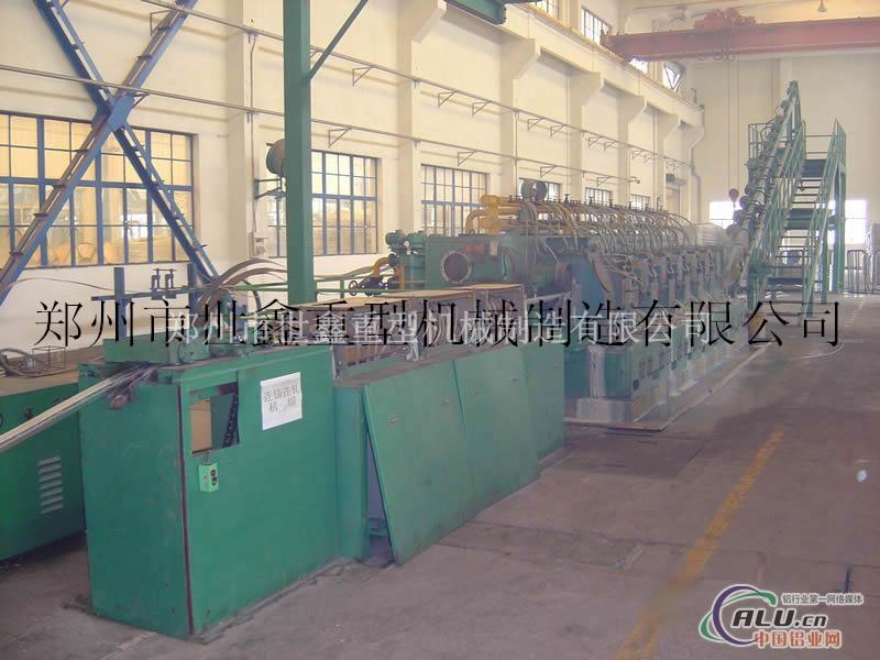 轧机铝杆连铸连轧机组