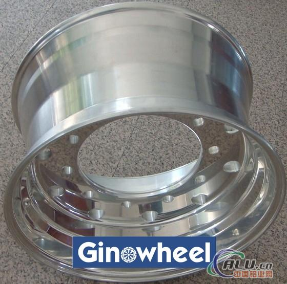 forged aluminum truck wheel