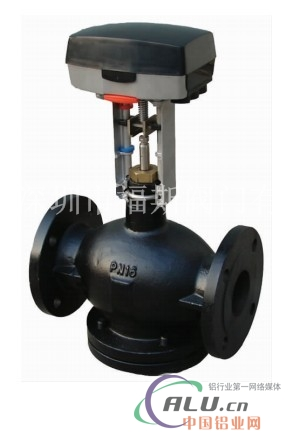 进口水用型电动两通调节阀图片