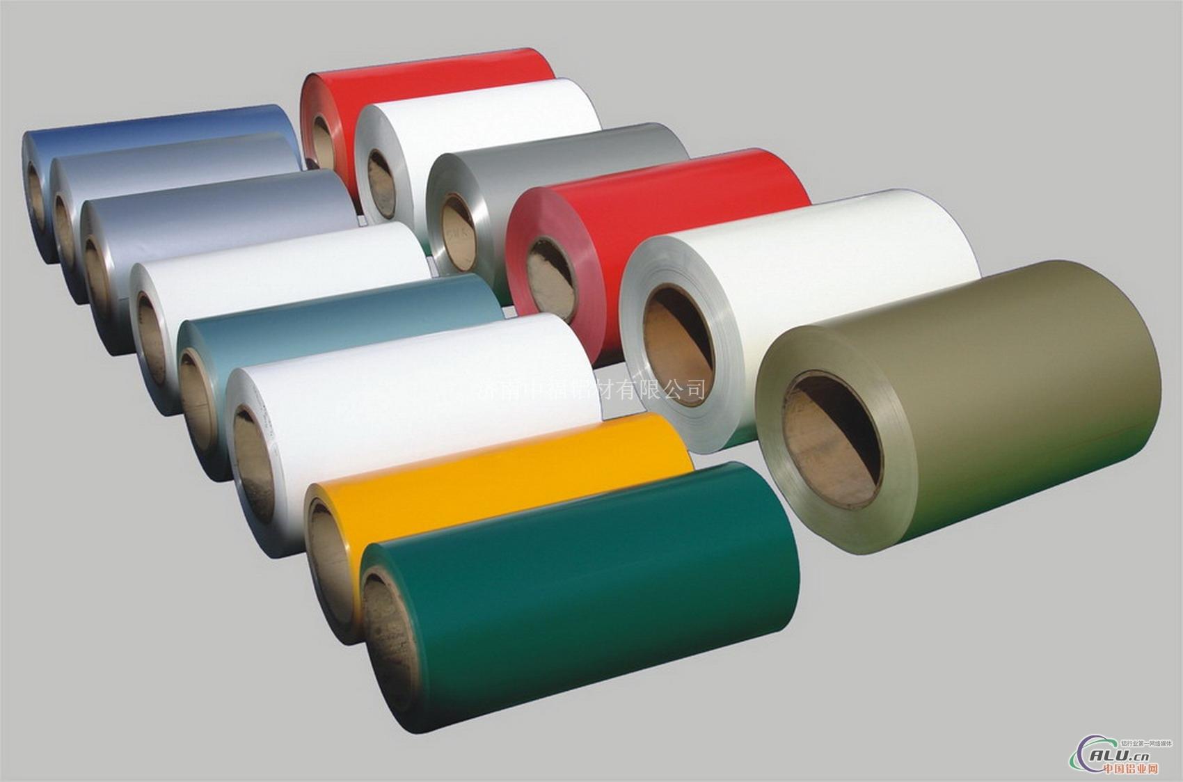厂家定做各种颜色彩涂铝板