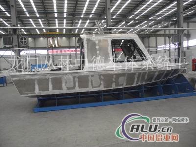 铝船+铝合金上建
