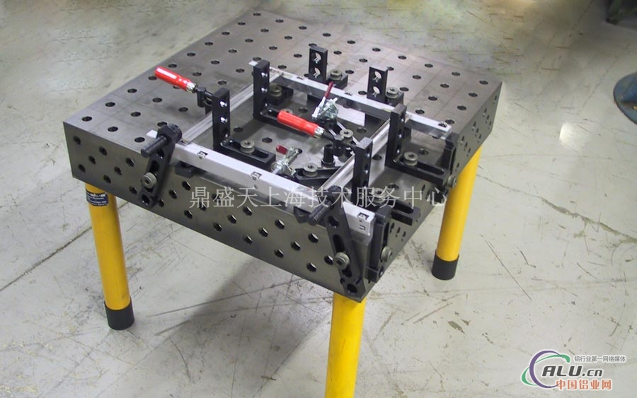 铝框架类焊接工装夹具4020h01