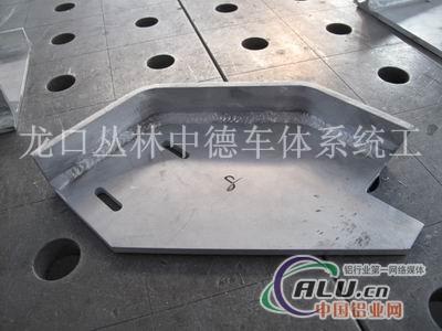 龙口丛林铝合金零部件焊接加工