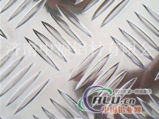常规1.0厚五条筋防滑花纹铝板