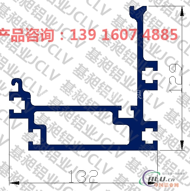 倍速链条导轨  流水线导轨  铝合金导轨   铝型材导轨  大型链条导轨    机械设备铝型材导轨   铝型材导轨