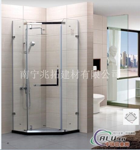 宾馆淋浴房隔断工程,别墅淋浴房隔断,精装修淋浴房隔断等 .