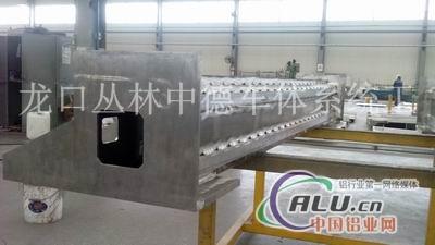 雕刻机横梁焊接