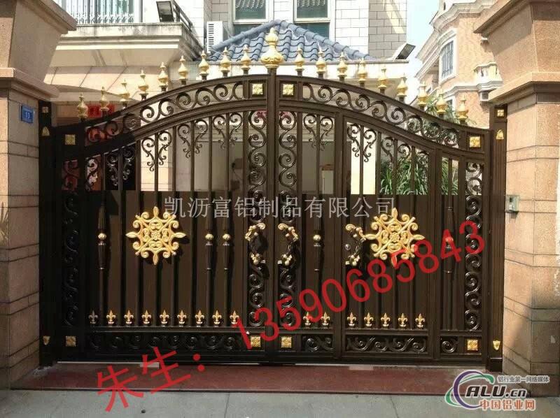 欧式院子门门头图片