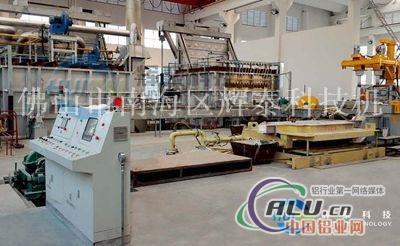 供应铝圆棒熔铸生产线
