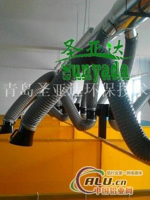 焊接培训学校室内烟尘处理
