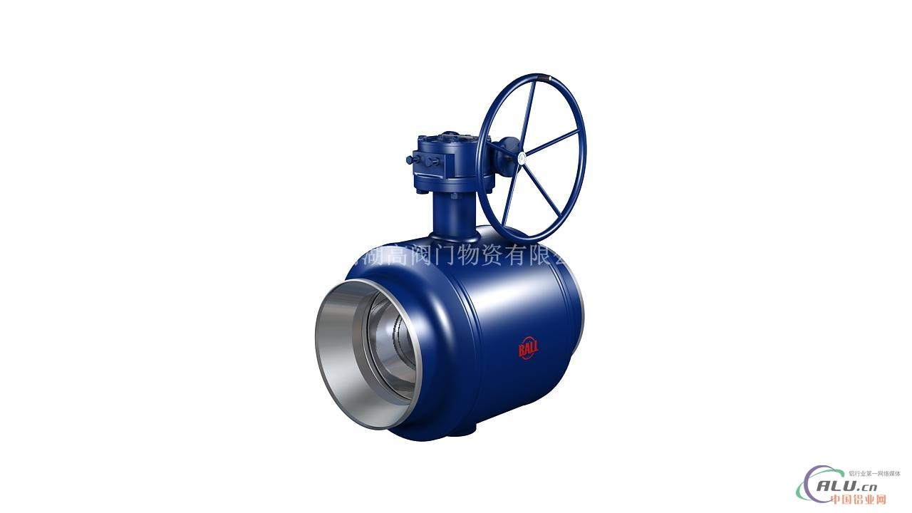 焊接燃气球阀,广泛应用于城市燃气的地下管线,天然气地下输送管线图片