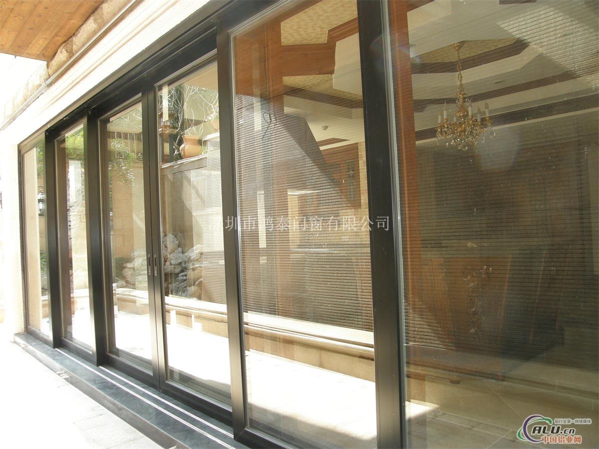 高档门窗-鸿泰ht120重型铝合金推拉门  配  件:德国丝吉利娅和诺托五
