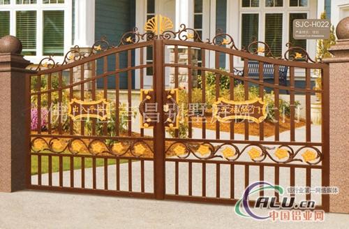 铸铝庭院门及铸铝栏杆油漆颜色分为