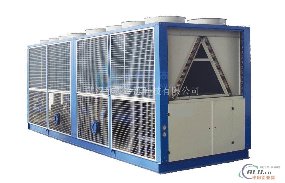 冰菱风冷螺杆冷水机组换热率高