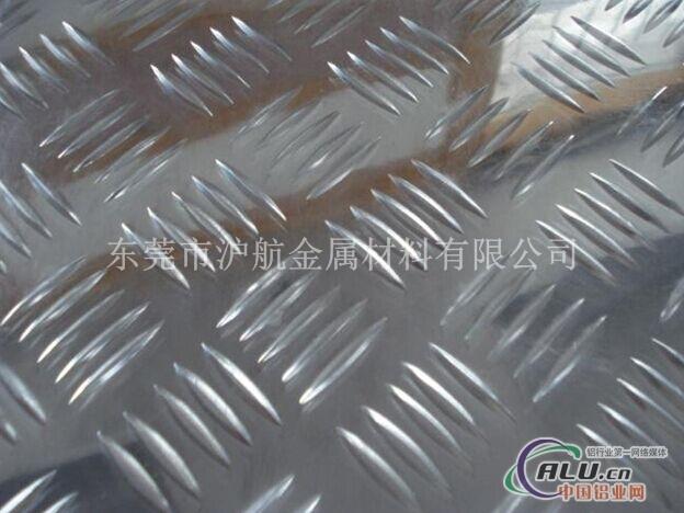 花纹铝板厂家,五条筋花纹铝板