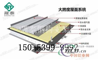 (4)轻钢结构屋面系统