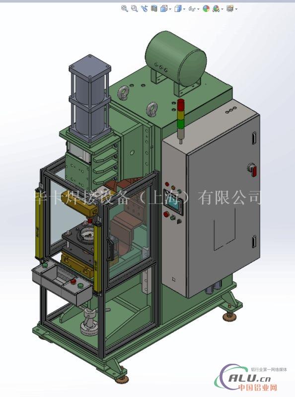 空调压缩机盖板中频焊接机
