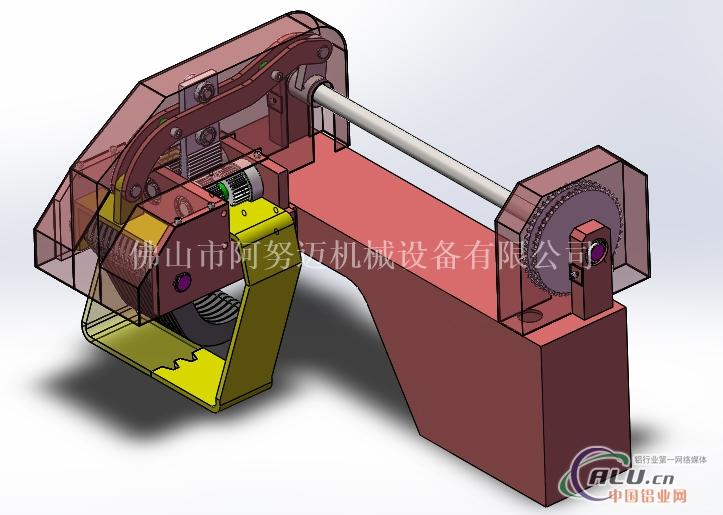 铝型材牵引机