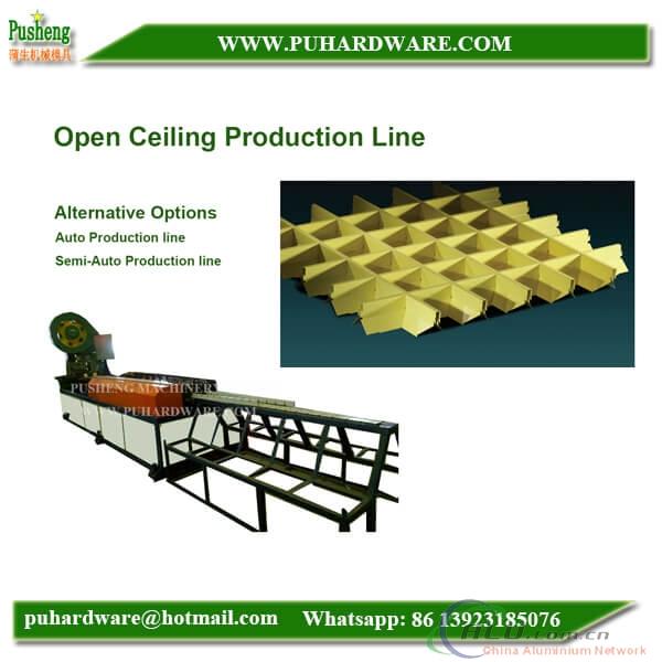 grid ceiling roll forming machine