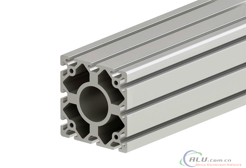 120*120mm T-slot Assembly Line Profile with 6061 aluminum alloy