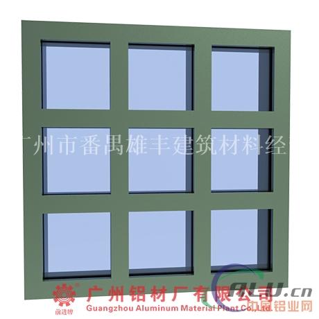 建筑铝型材批发门窗幕墙铝材批发