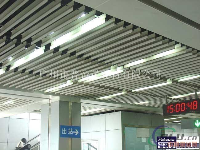 建筑天棚外墙防风挂片遮阳系统