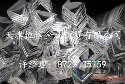 吉安6061工业铝方管 铝方通 6061T6铝方管厂家