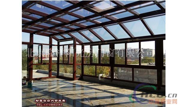 封阳台-铝合金门窗-中国铝业网