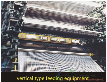 vertical type feeding equipment